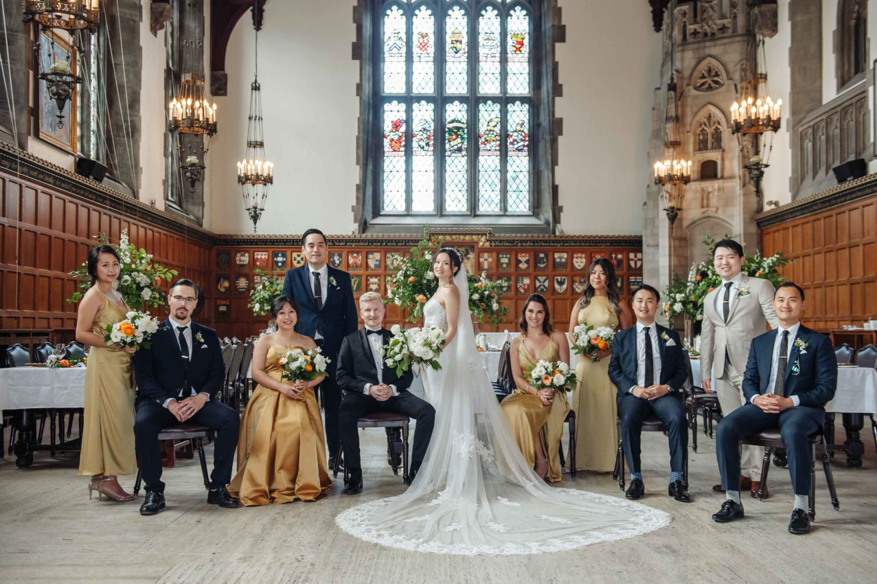 A Guide to Wedding Party Roles- AGI Studio Toronto Wedding Photographers